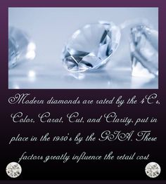 Just what you needed to know about the coveted 4 Cs that govern the purity, the rarity and the chastity of a diamond.   #5thPost #TheDiamondBookOfFacts #LuminescenceOutside #EnchantmentWithin #KapishJewels