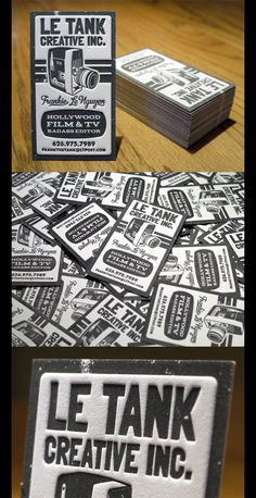 47 Amazing Letterpress Business Cards
