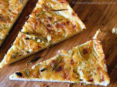 Farinata Genovese: Ligurian Chickpea Pancake by ~CinnamonGirl, via Flickr
