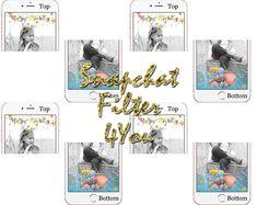 Unicorn Birthday Geofilter Glitter Party Filter Snapchat Digital Geofilters