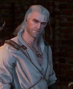 ♡ The Witcher ♡ The Witcher Books, The Witcher Game, The Witcher Geralt, Witcher Art, Witcher 3 Wild Hunt, Ciri, Video Game Characters, Fantasy Characters, White Wolf