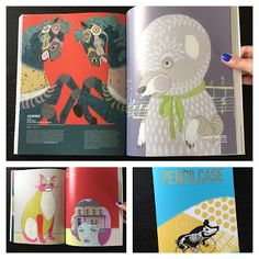 Jennifer Davis Art: PencilCase Vol. 4, and Environmental Graphic & Art Magazine from Seoul, South Korea