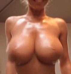 Sexy Nude Boobs Bouncing | filled-to-the-max • Her boobs are fake