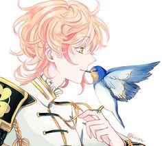 beautiful anime boy ( I think... )
