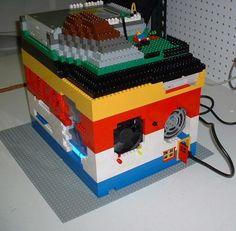 Boitier Lego ordinateur