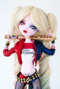 VENDIDO por Valerie Harley Quinn inspirada 17 Draculaura