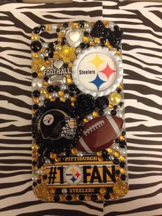Pittsburgh Steelers Phone Case by EpicPhoneCases on Etsy, $25.00