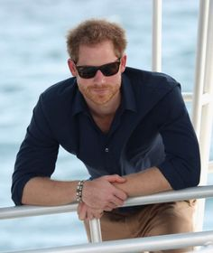 Prince Harry visits the coral reef off Grand Anse Beach on the ninth day of an official visit to the Caribbean on November 28, 2016 in St Georges, Grenada.