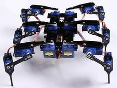 Picture of Hexapod4 Spider Robot Instruction Manual