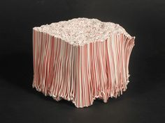 Melted Straws Fuse Together To Create Unusual Art Straw Sculpture, Textile Sculpture, Sculpture Art, Melted Plastic, Plastic Art, Straw Projects, Class Projects, Straw Art, Unusual Art