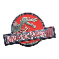 New to FlagPatchKingdom on Etsy: Jurassic Park Patch Embroidered Badge Iron On Sew On Patches (3.69 USD)