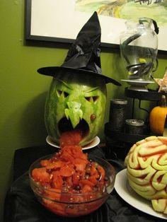 La sorcière ne tolère pas la salade de fruit!