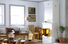 Set the mood with a fireplace - many fine models - Comfortable home