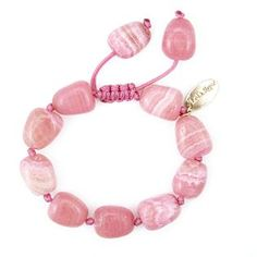 An update on the signature Lola Rose tumble design, this Cassidy bracelet comes in a variety of gorgeous colours. Lola Rose, Qvc Uk, Semi Precious Beads, Beaded Bracelets, Jewels, My Style, Pink, Fashion, Moda