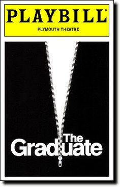 the graduate play broadway playbill - Google Search