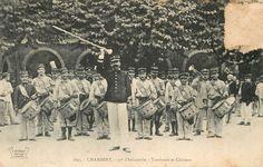 Tambours et clairons - 97ème Régiment d'Infanterie - Chambéry Tambour, Drums, History, Camping, Painting, Campsite, Historia, Percussion, Painting Art