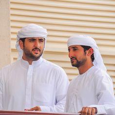 Mohammed bin Maktoum bin Rashid Al Maktoum y Juma bin Dalmook bin Juma Al Maktoum, 03/2015. Foto: haalsuwaidy. Vía: mrs_almaktoum