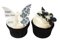 EDIBLE PAPER Butterflies - 36 Edible Butterflies - Cake Toppers, Wedding Cake, Decorations, Baking Supply. $16.00, via Etsy.
