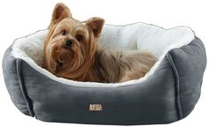 Pamper your pet with the Animal Planet Micro-Suede Pet Bed. Provide your pet with a comfortable place to rest and sleep with this micro-suede pet bed. This bed is easy to clean- just use a towel and spot clean any trouble areas. Large Dog Crate, Large Dogs, Small Dogs, Dog Car Seats, Cool Dog Beds, Best Dog Training, Pet Beds, Best Dogs, Pet Supplies