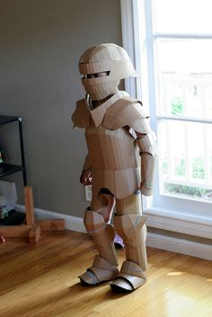 Knight costume, unpainted | Flickr - Photo Sharing!