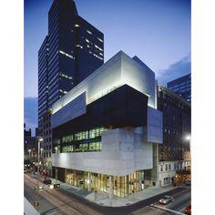 Lois & Richard Rosenthal Center for Contemporary Art, Cincinnati, at dusk | RIBA