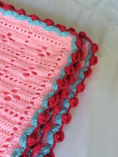 Crochet Stitches Video Dailymotion : ... Crochet Edgings, Crochet Borders and Crochet Edging Patterns