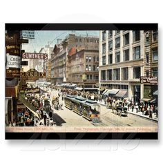 State St Chicago IL Vintage 1905 - Buy me at Zazzle!