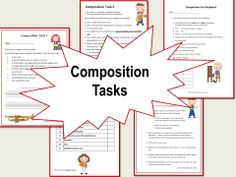 MUSIC COMPOSITION: A variety of guided music composition worksheets / activities for the music classroom! CLICK through to preview or repin for later!