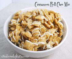 Cinnamon Roll Chex Mix on MyRecipeMagic.com #recipe #snack #chex