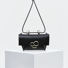5a80d51f6d201 THE ORBIT - KOZHA NUMBERS Calf Leather, Shoulder Strap, Numbers, Stainless  Steel Rings