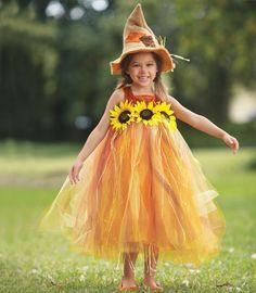 sweet scarecrow girls costume - Chasing Fireflies