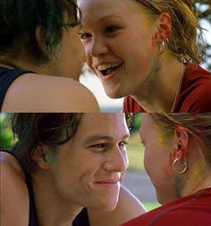 """And never be afraid to let love in. 