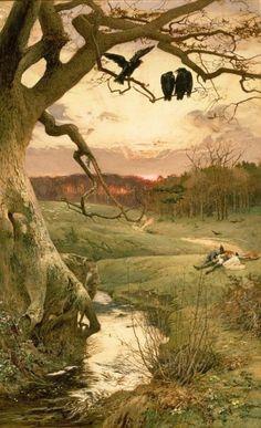 Edward Frederick Brewtnall - The three ravens