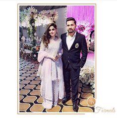 Rabia Waheed looking ethereal in a lavender #FarahTalibAziz ensemble at a wedding in Lahore✨ #FTAweddingwear #PastelPerfect