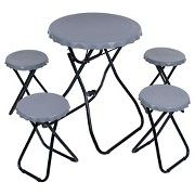 Trademark Global 5 Piece Portable Picnic Table Tailgating Set Available at Citadel Mall, Charleston, SC