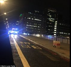 BREAKING NEWS: Car drives into roughly 20 people on London Bridge'