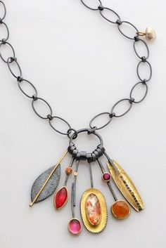 Sydney Lynch, Tropica Cluster Necklace