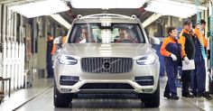 Volvo's Going To Build The Next XC90 In America #Volvo #Volvo_XC90