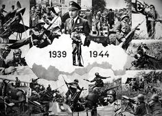 Collage of the Slovak Army featured in a 1944 magazine. Southern parts of Slovakia were occupied by the Kingdom of Hungary for the duration of the war. Bratislava, Luftwaffe, Eastern Europe, World War Two, Hungary, Ww2, Germany, Collage, Southern