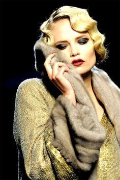 Jean Paul Gaultier Fall/Wint 2009 - Natasha Poly