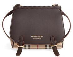 Shop Now - >  https://api.shopstyle.com/action/apiVisitRetailer?id=631424966&pid=uid6996-25233114-59 Burberry Bridle Shoulder Bag - Brown  ...