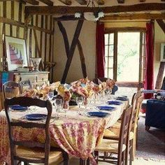 French Country Dining Room Ideas With Chandelier And Wooden Table Awesome French Country Dining Room Decorating Ideas Inspiration