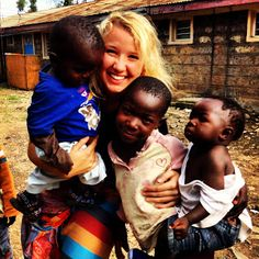 Go on a mission trip to Africa and provide art therapy to children.