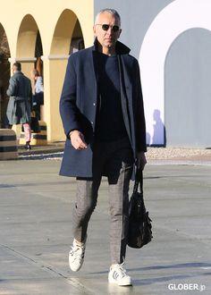 93b7bfbda240 Mantel Männer, Ältere Männer Mode, Herren Mode, Modetrends, Kleiderschrank,  Tipps,