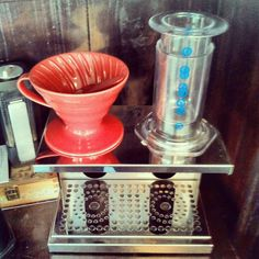 Hario coffee vs. Aeropress coffee