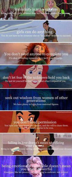 What Disney teaches us...