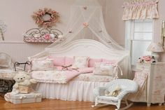 shabby shic girl rooms | pink shabby chic bedroom becomes the most favorite shabby chic style ...