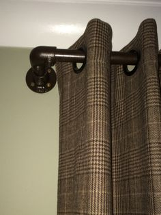 Awesome I Saw These Industrial Curtain Rails On Some American Websites But Tracking  Them Down Was Almost