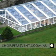 White Clear Marquee Hire Package – PFM - Events & Catering Clear Marquee, Marquee Hire, Dance Floor Lighting, Stage Lighting, Event Signage, Portable Toilet, Public Garden, New Tricks, Fairy Lights