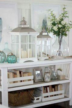 09 Comfy Coastal Living Room Decor and Design Ideas